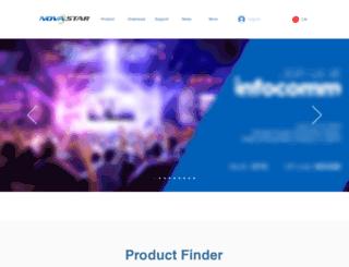 novastar-led.com screenshot