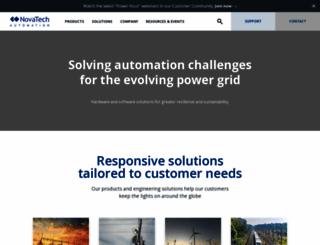 novatechweb.com screenshot