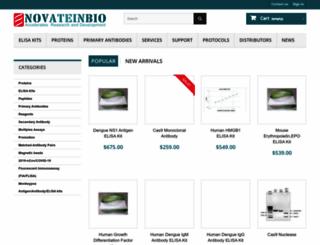 novateinbio.com screenshot