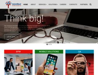 novateurtechnologies.com screenshot