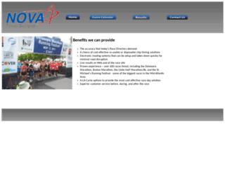 novatimingsystems.com screenshot