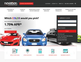 novation.org screenshot