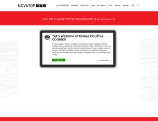 novatop-system.cz screenshot