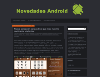 novedadesandroid.wordpress.com screenshot