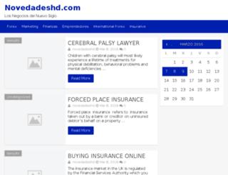 novedadeshd.com screenshot