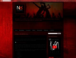 novedadesrock.blogspot.com.es screenshot