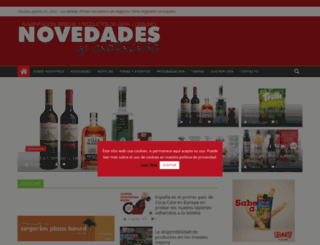 novedadesynoticias.com screenshot