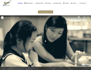 novel-learning.com screenshot