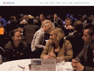novella.nl screenshot