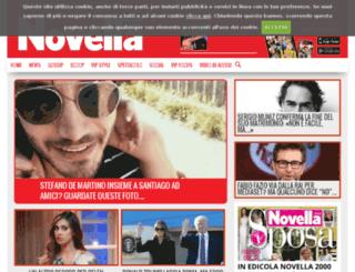 novella2000.leiweb.it screenshot