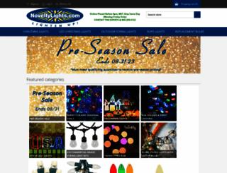 noveltylights.com screenshot