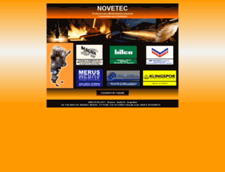 novetec.com.ar screenshot