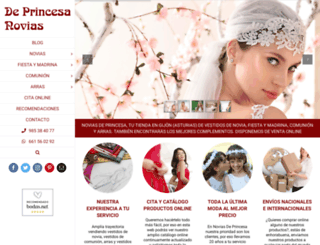 novias-deprincesa.com screenshot