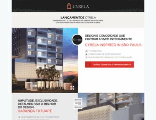 novidadescyrela.com.br screenshot