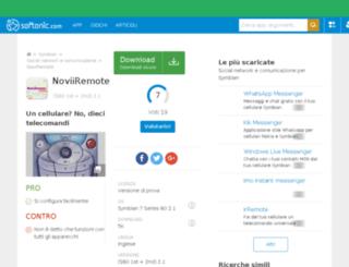 noviiremote.softonic.it screenshot