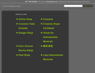 novineshop.com screenshot