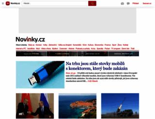 novinky.cz screenshot