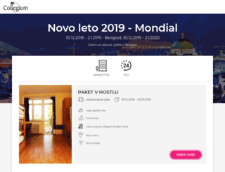 novo-leto.si screenshot