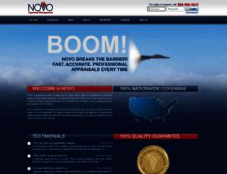 novoamc.com screenshot