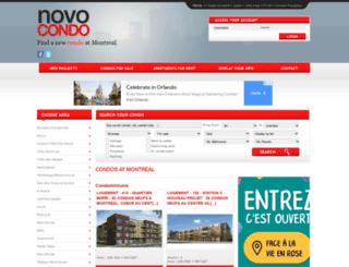 novocondo.com screenshot