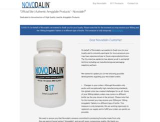 novodalin.com screenshot