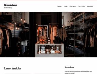 novofashion.nl screenshot