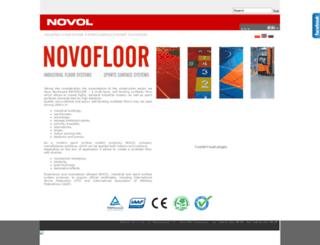 novofloor-novol.com screenshot