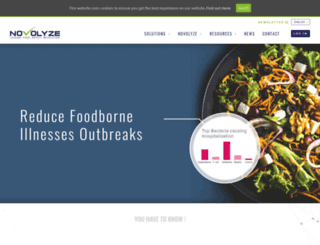 novolyze.com screenshot