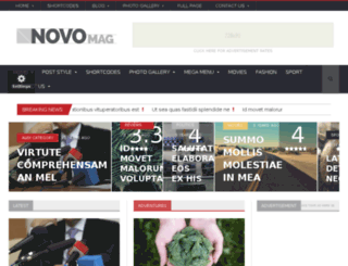 novomag.orange-themes.com screenshot