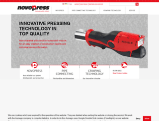 novopress.com screenshot