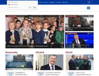 novorossia.today screenshot