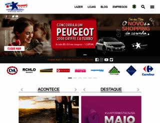 novoshopping.com.br screenshot