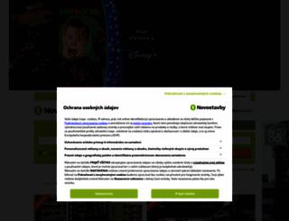 novostavby.sk screenshot