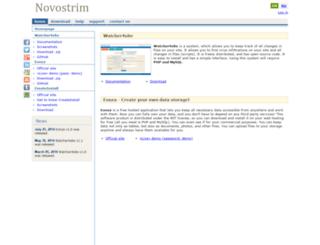 novostrim.com screenshot