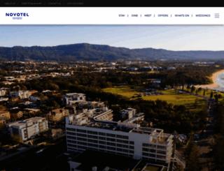 novotelnorthbeach.com.au screenshot