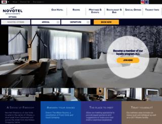 novotelottawa.com screenshot