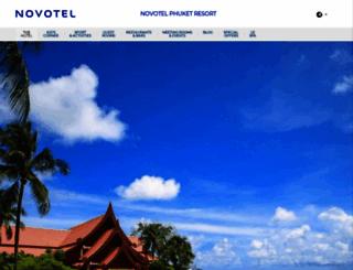 novotelphuket.com screenshot