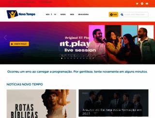 novotempo.com screenshot