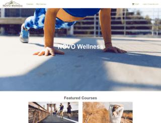 novowellness.ideafit.com screenshot