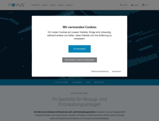 novusair.com screenshot