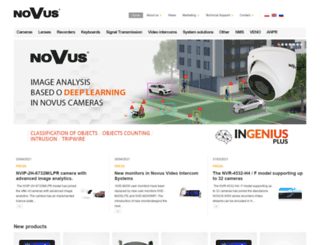 novuscctv.com screenshot