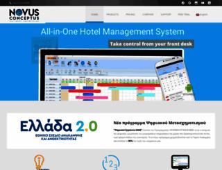 novusconceptus.com screenshot