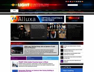 novuslight.com screenshot