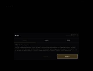 novy.es screenshot