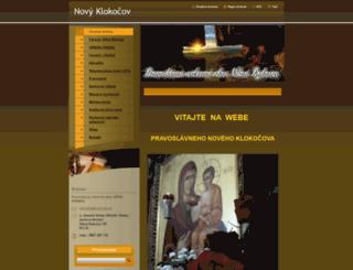 novyklokocov.webnode.sk screenshot