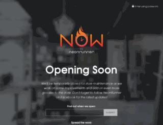 now.neonrunner.com screenshot