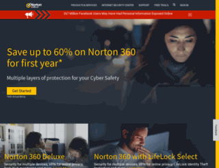 now.norton.com screenshot