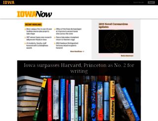 now.uiowa.edu screenshot