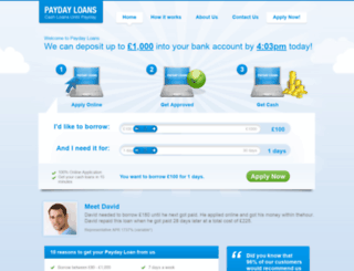 nowaitloans.co.uk screenshot