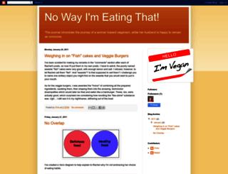 nowayimeatingthat.blogspot.com screenshot